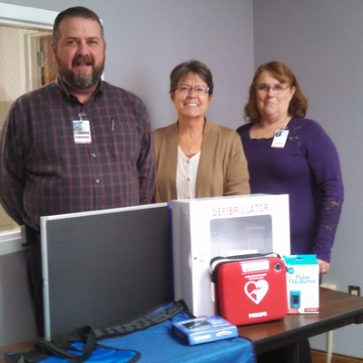 Hospital equipment provided by SCHCF, Stafford County Hospital